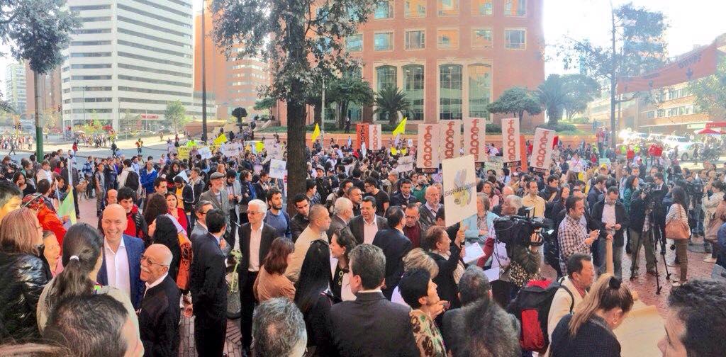 Protestan por venta de ISAGEN